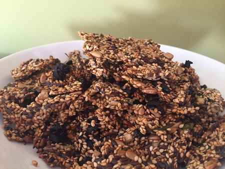 craquelin apéritif sain et sans gluten