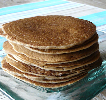 galette petit déjeuner sans gluten, sans produits laitiers